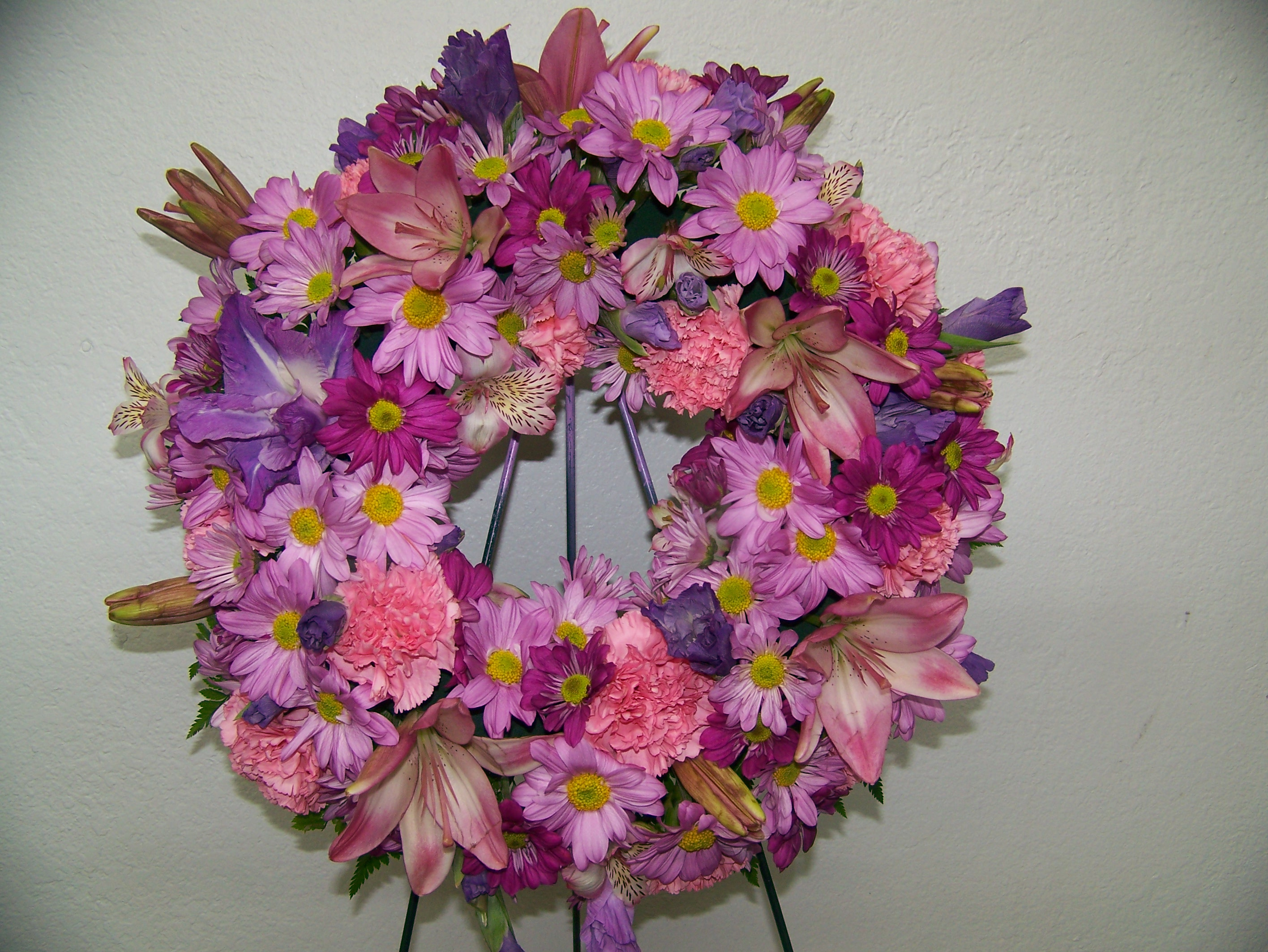 Barstow Flower Bridal Boutique : Heavenly wreath barstow floral bridal