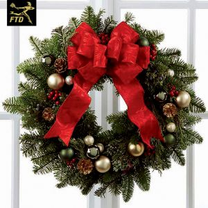 Christmas Faux Wreath