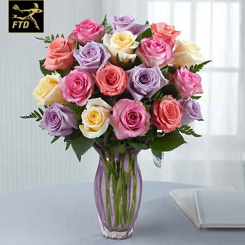 Barstow Flower Bridal Boutique : The ftd? mother s day mixed rose bouquet barstow floral bridal