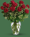 Red Roses Long Stem