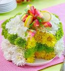 Flower Lemon Cake